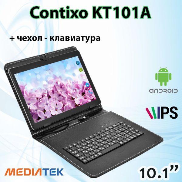 Супер Ігровий Планшет-Телефон CONTIXO KT101A 3 / 32GB 4G BT FM GPS + Чохол-клавіатура