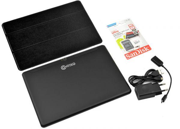 Супер Ігровий Планшет-Телефон CONTIXO KT101A 3 / 32GB 4G BT FM GPS + Чохол-вкладиш + Карта пам'яті 64GB