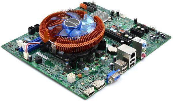 Материнская плата + процессор Intel core i3 4130 + низкопрофильное охлаждение