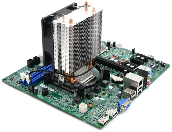Материнская плата + процессор Intel core i3 4130 + охлаждение Cooler Q9