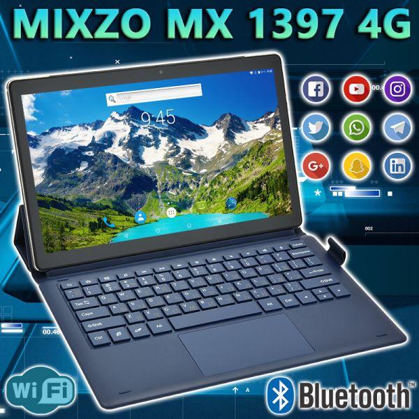 АКЦІЯ! Супер Ігровий Планшет-Телефон MiXzo MX1397 4G 11.6 '' 3 / 32GB BT FM GPS