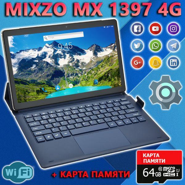 АКЦІЯ! Супер Ігровий Планшет-Телефон MiXzo MX1397 4G 11.6 '' 3 / 32GB BT FM GPS + Карта 64GB