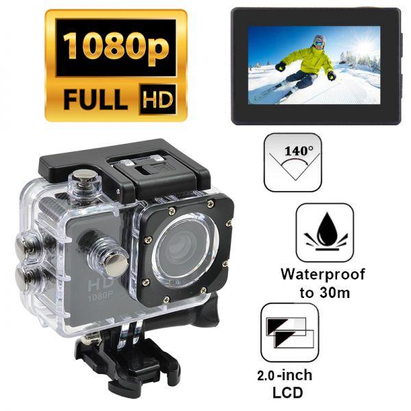 Екшн камера Sport Cam HD 1080P (оригінал)