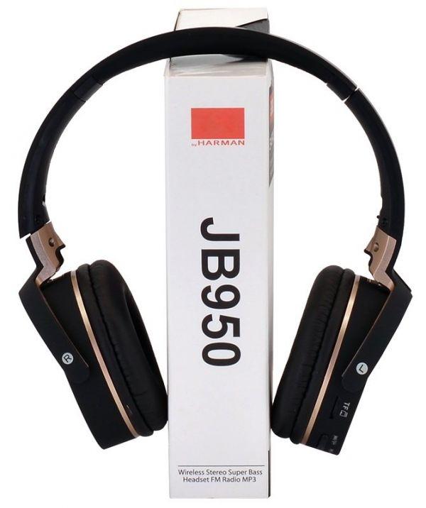 Беспроводные Bluetooth наушники EVEREST JB950 с МР3 и FM(Уценка TN0725)