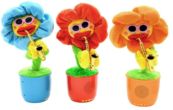 АКЦИЯ! Портативная bluetooth колонка Dancing Flower G26(Уценка TN0726)