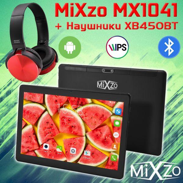 Ігровий 4G планшет MiXzo MX1041 на Android 7.0 2GB Ram 32GB Rom + Bluetooth навушники XB450BT