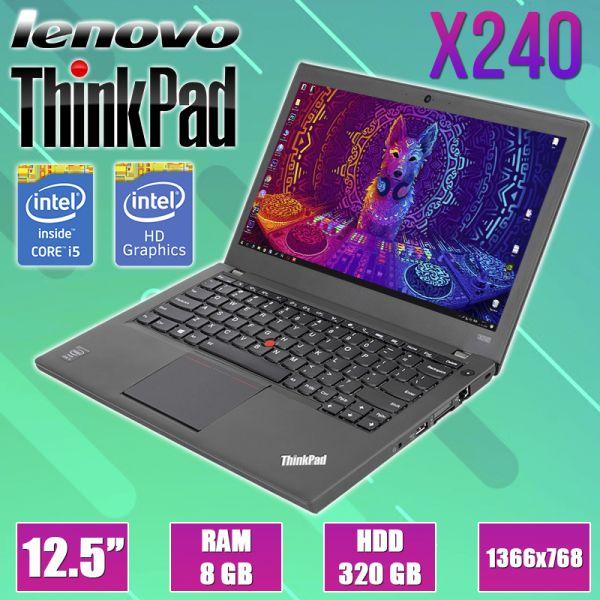 Ноутбук Lenovo ThinkPad X240 12.5 '' i5 4300U 8GB RAM 320GB (Уцінка TN0663)