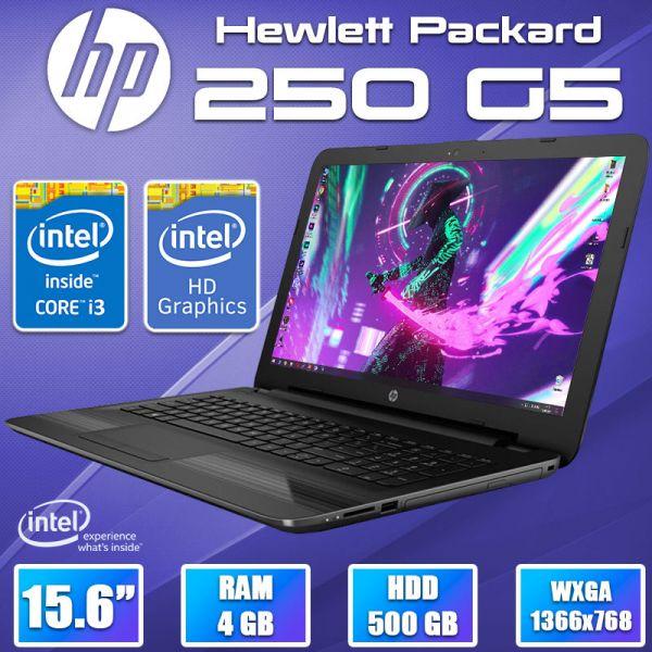 "Бизнес ноутбук HP 250 G5  i3 5005U 15.6"" 4GB 500GB HDD"