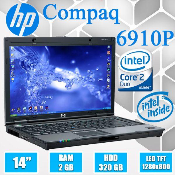 """Бюджетний Ноутбук HP Compaq 6910P 14.1 """"Intel Core 2 Duo + Веб-камера в подарунок"""
