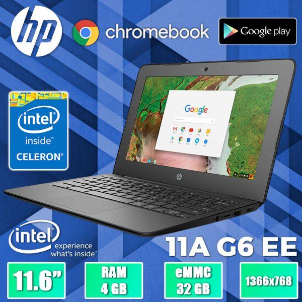 "Современный Ноутбук - ультрабук HP Chromebook 11A G6 EE 11.6"" 32GB + Celeron 4 Ядра + Google Play"