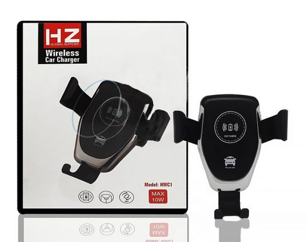 Оригінальний Якісний Автодержатель для телефону HWC1 HZ Wireless charger з бездротовою зарядкою