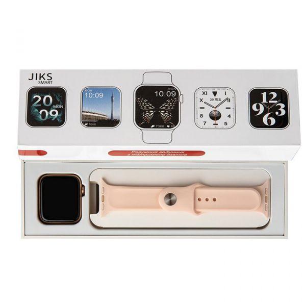Умные часы Jiks Smart с функцией разговора Pink