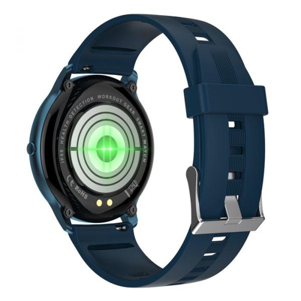 Умные часы Linwear LW11 с измерением кислорода Blue