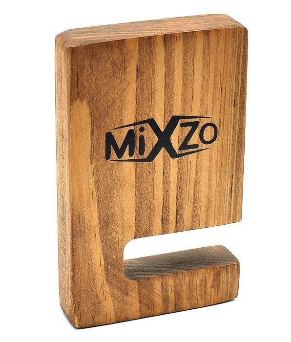Дерев'яна еко підставка MiXzo для смартфона з натурального дерева