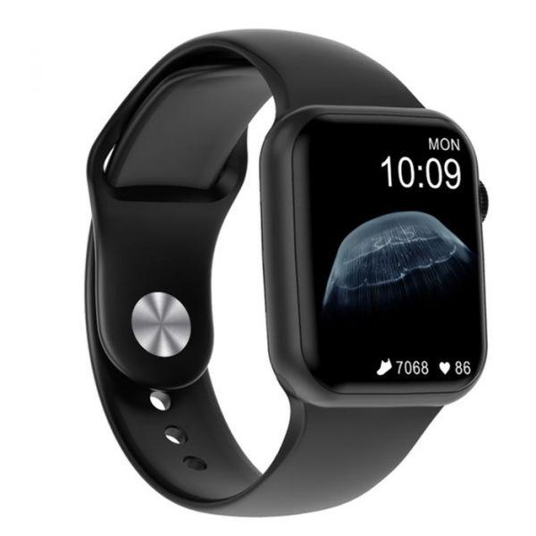 Умные часы NO.1 DT100 Silicone с измерением кислорода в крови Black