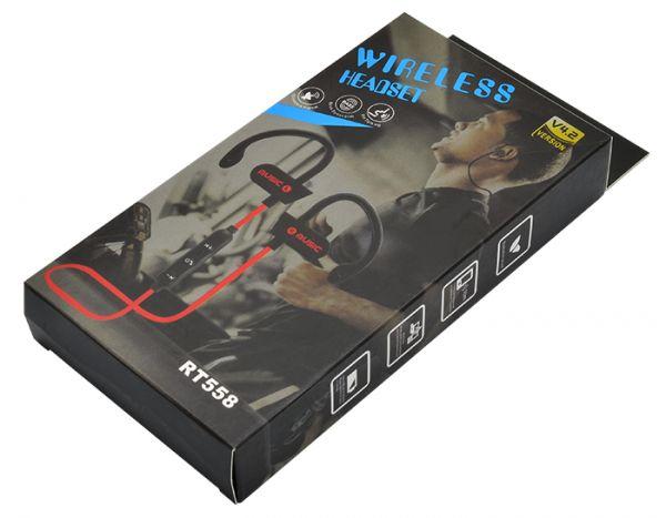 Беспроводные наушники вакуумные с микрофоном WIRELESS RT 558