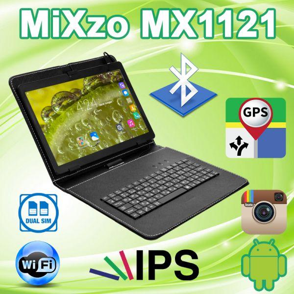 Недорогий Планшет MiXzo MX1121 3G 10.1 '' IPS 2 / 16GB GPS + Чохол-клавіатура