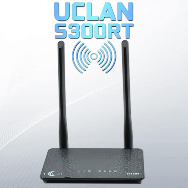 Маршрутизатор uClan S300RT WiFi роутер