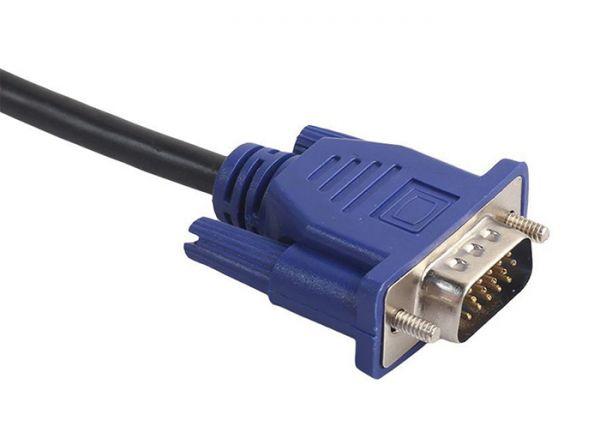Кабель підключення монітора VGA-VGA 1.8 м